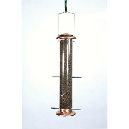Woodlink Audubon 4 Port Brushed Copper Thistle Feeder