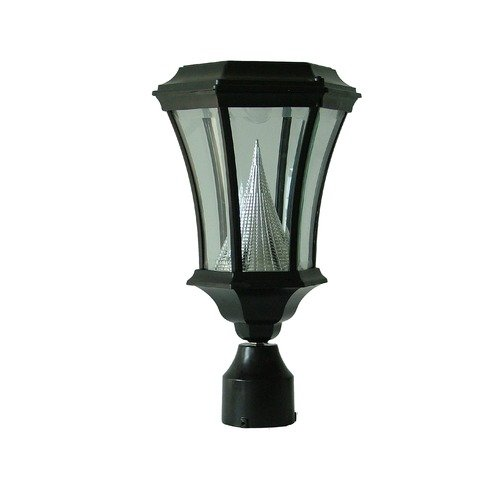 GamaSonic Victorian Fitter Mount Solar Lamp