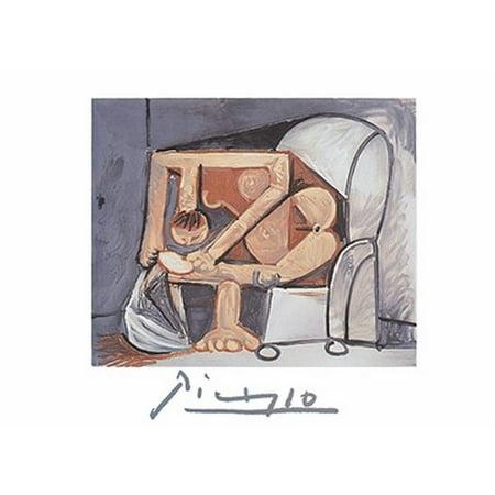 Femme a La Toilette (Litho) Poster Print by Pablo Picasso (30 x 22)
