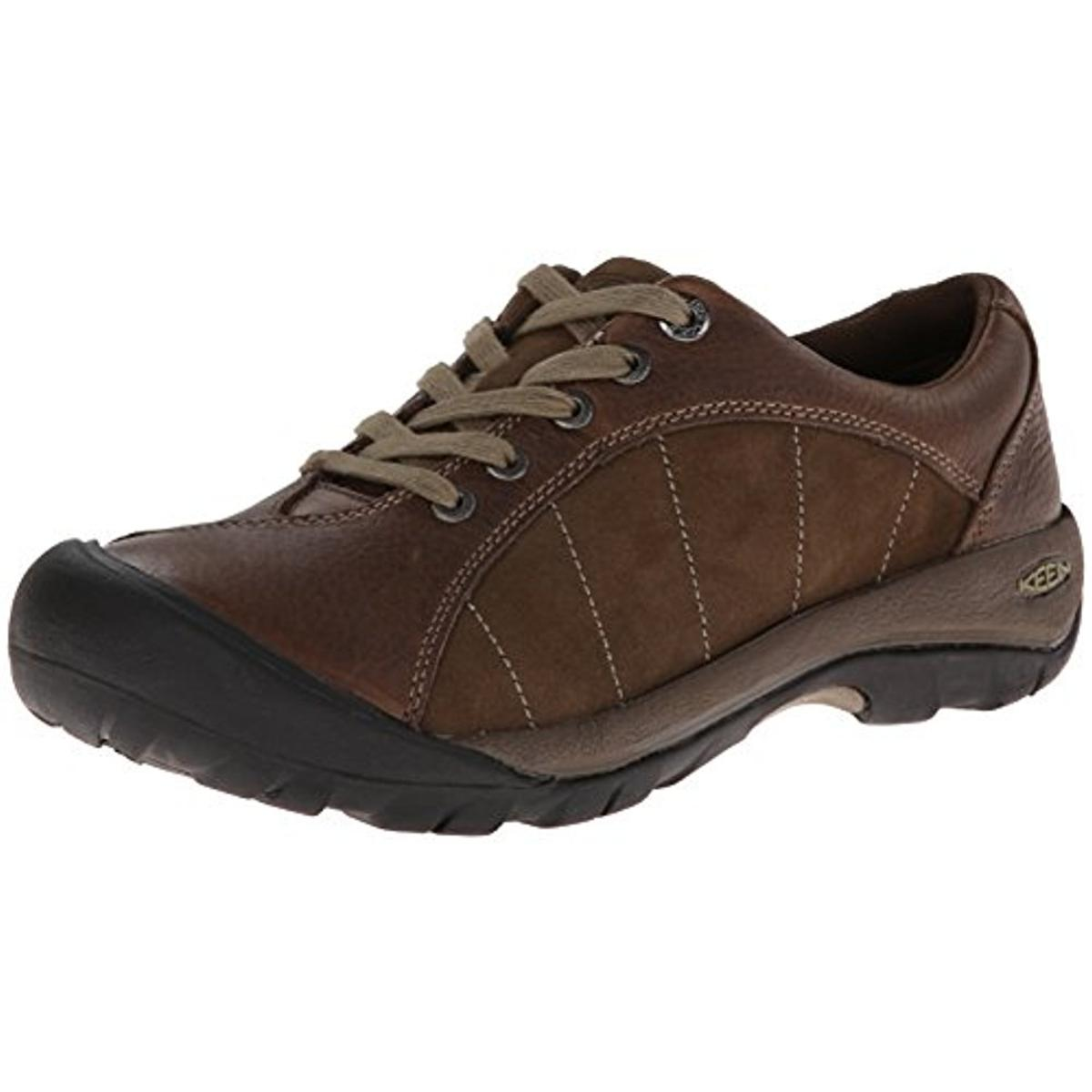 Keen Keen Womens Presidio Leather Casual Oxfords Brown 8 Medium B