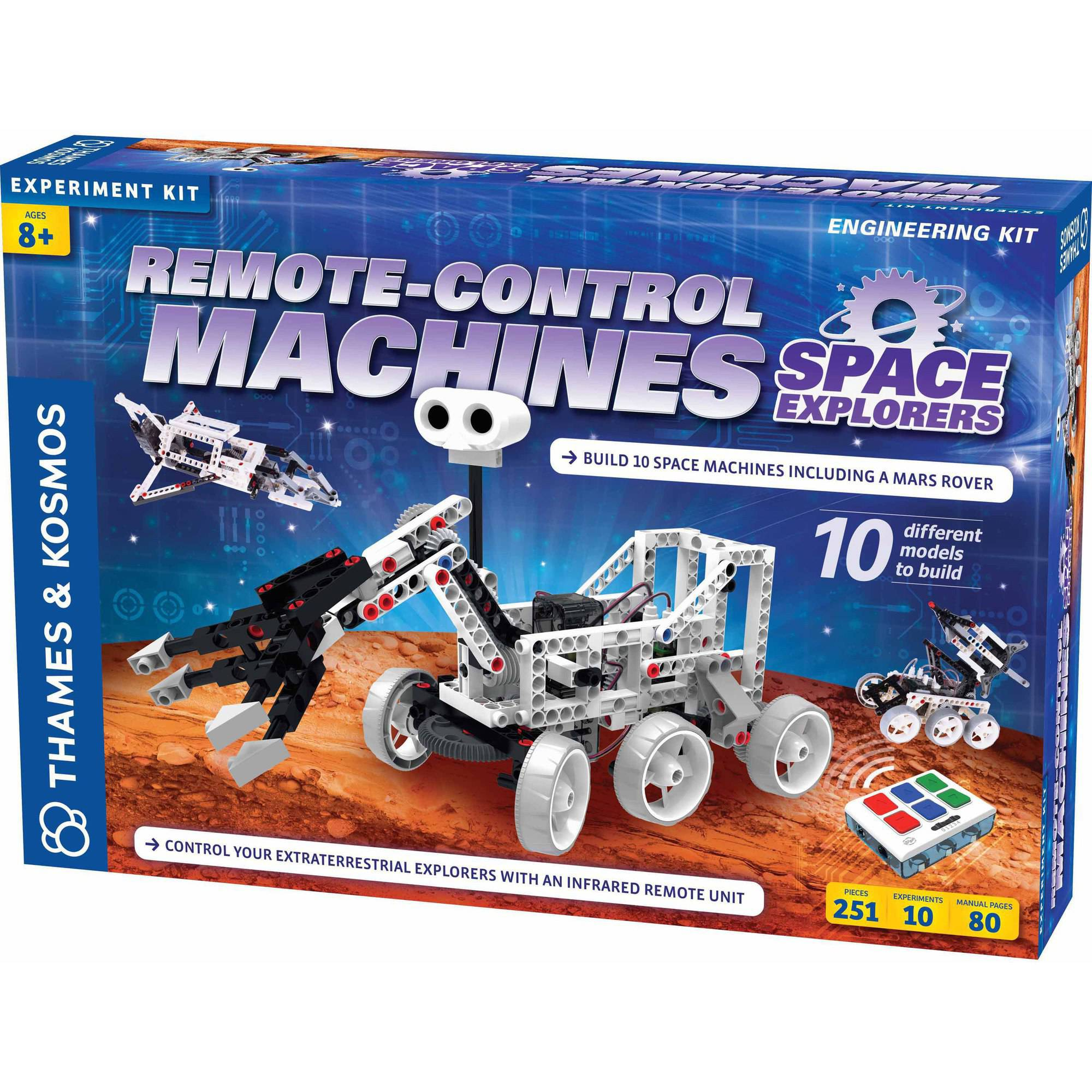 Thames and Kosmos Remote-Control Machines: Space Explorers Science Experiment Kit by Thames & Kosmos