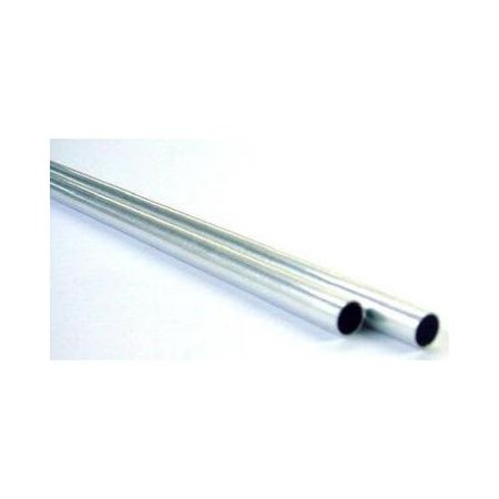 K & S Precision Metals 1113 Round Tube, Aluminum, 1/4 OD x 36-In. - Quantity - Metal Tubing