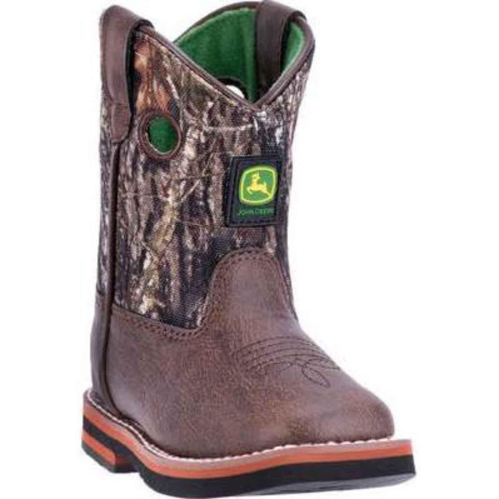 Infant John Deere Boots Everyday Infant Broad Square Toe Boot 1043 by John Deere