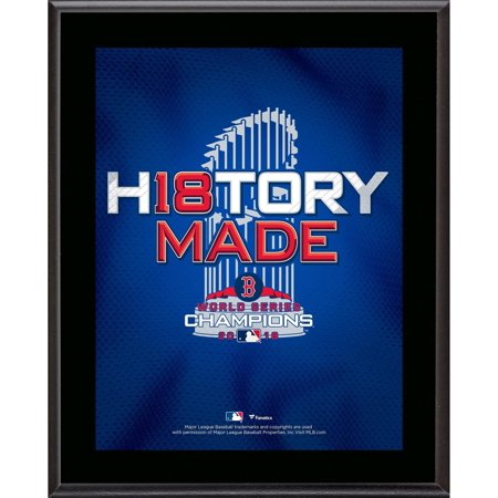 - Boston Red Sox 2018 MLB World Series Champions 10.5