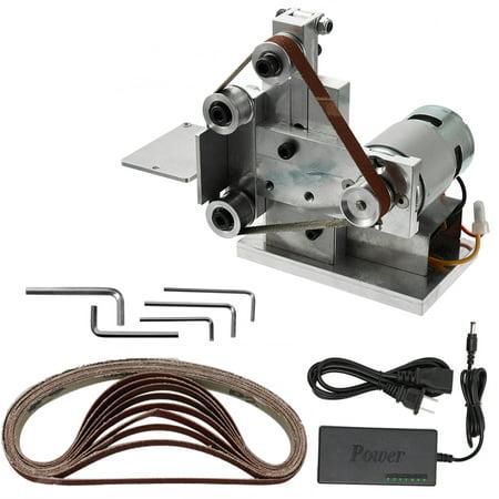 Multifunctional Grinder Mini Electric Belt Sander DIY Polishing Grinding Machine Cutter Edges Sharpener - image 7 of 7