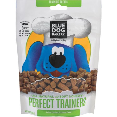 (2 Pack) Blue Dog Bakery Perfect Trainers Grilled Chicken & Cheese Flavor
