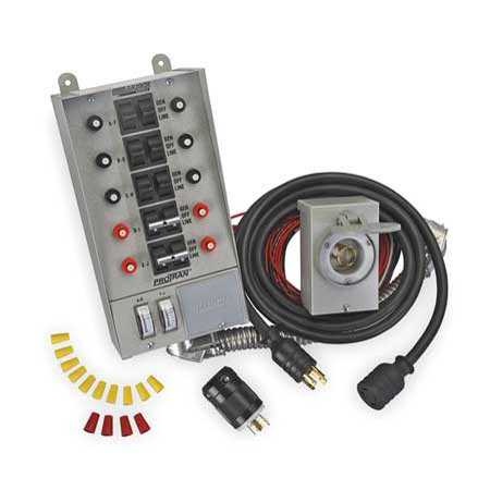 Reliance 31410CRK 60A Manual Transfer Switch, 125/250V ()