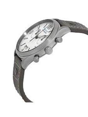 Movado Heritage Grey Lacquer Dial Chronograph Ladies Watch