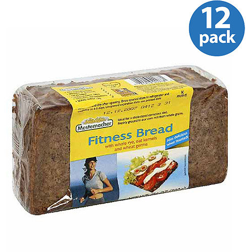 Mestemacher Fitness Bread, 17.6 oz (Pack of 12)