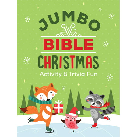 Jumbo Bible Christmas Activity & Trivia Fun : Crosswords, Word Searches, Mazes, Coloring Pages, Trivia & More!