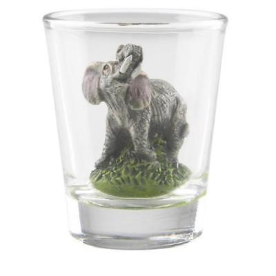 ELEPHANT DECORATIVE SHOT GLASS
