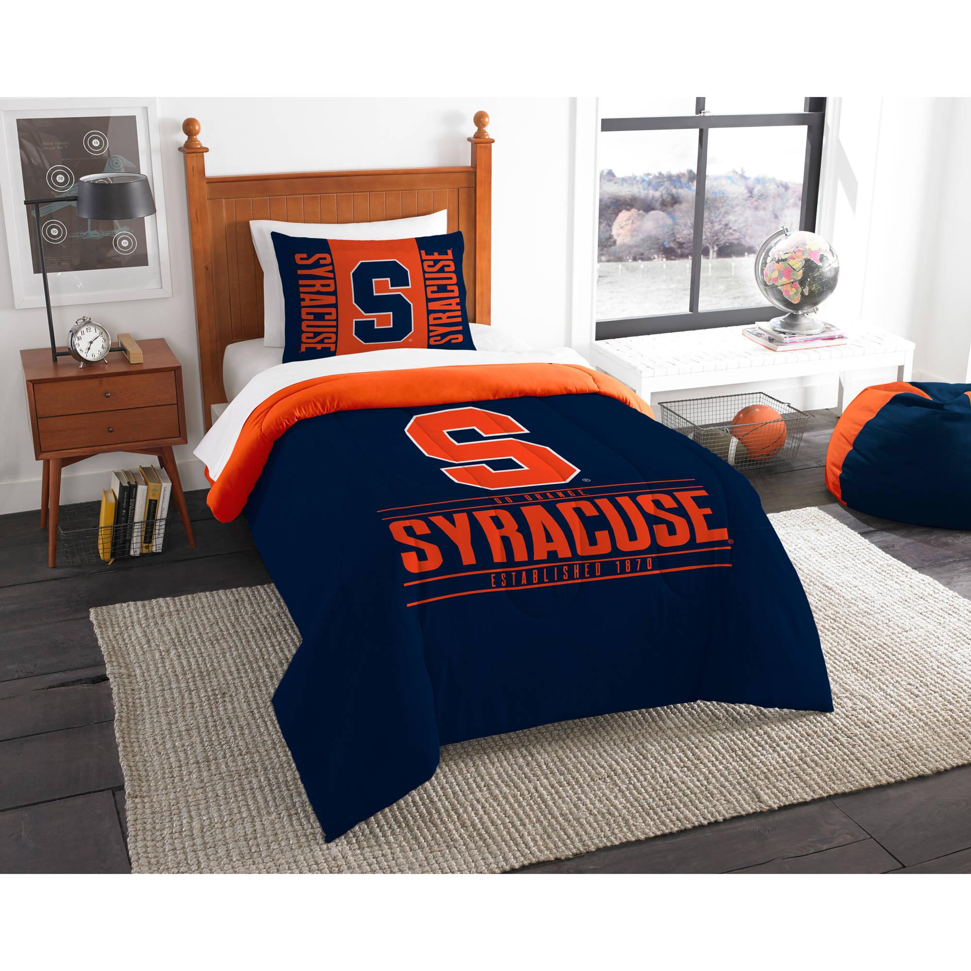 """NCAA Syracuse Orange """"Modern Take"""" Bedding Comforter Set"""