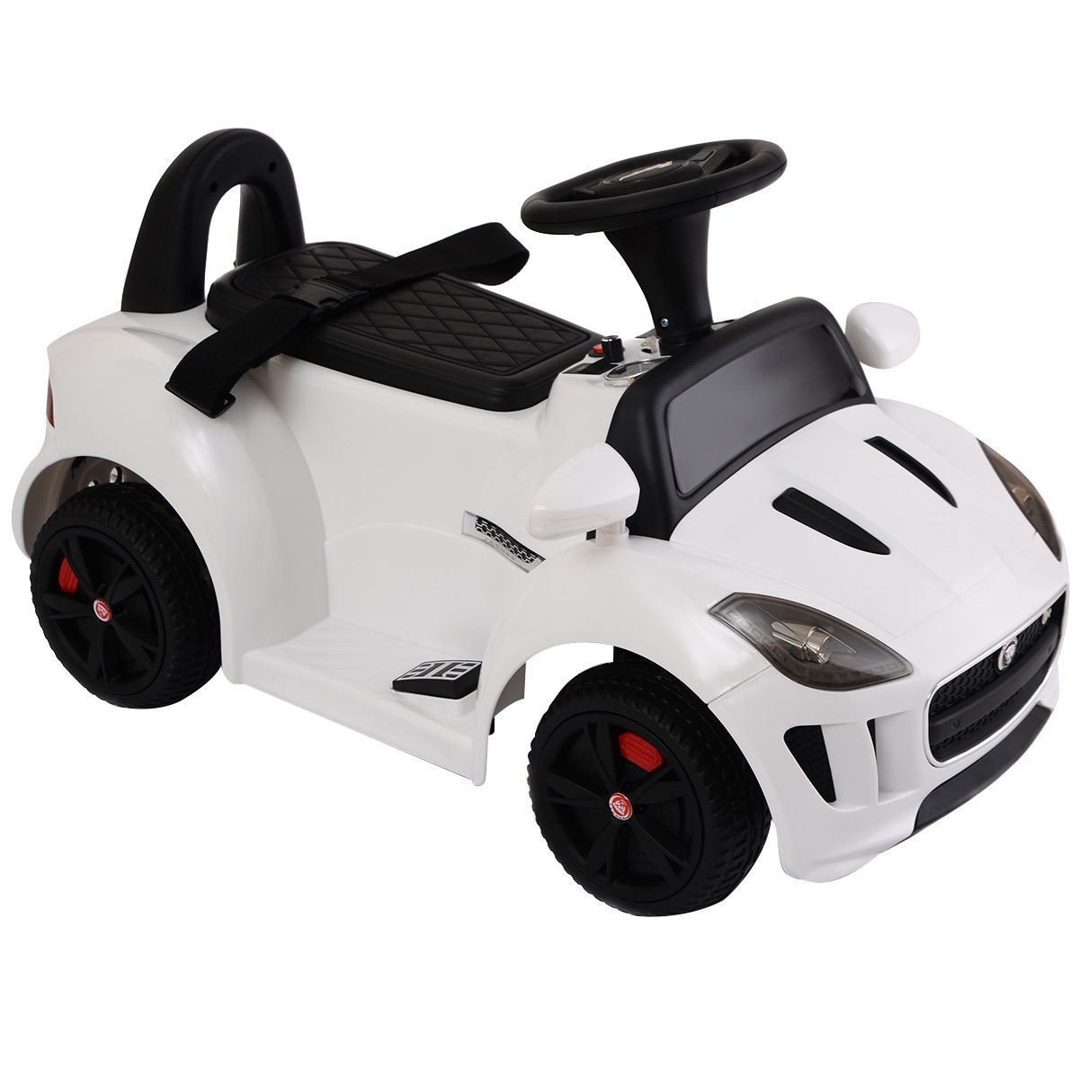 JAGUAR F-TYPE 6V Electric Kids Ride On Car Licensed MP3 Battery Power White