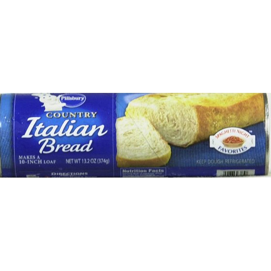 Pillsbury Country Italian Bread 13 2 Oz Walmart Com