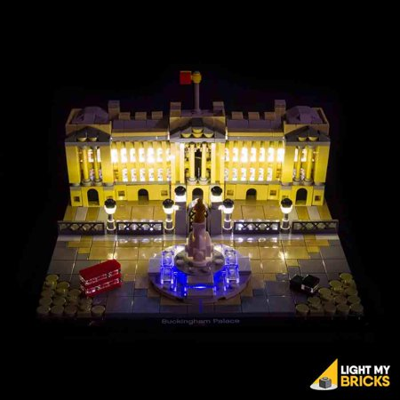 LIGHTING KIT FOR BUCKINGHAM PALACE 21029 (BUILDING SET NOT INCLUDED) BY LIGHT MY BRICKS