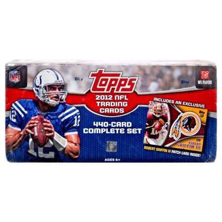 NFL 2012 Topps Football Cards Complete Set Trading Card Box Walmart.com