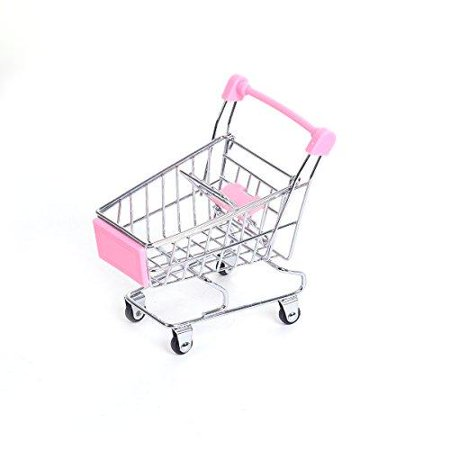 Sexy Sparkles Mini Shopping Cart Trolley for Desktop Decoration Ornament Toys Novelty Mini Toy Shopping Cart - Pen/Pencil/PostIt Holder Desk Accessory (Pink) Sexy Sparkles Mini Shopping Cart Trolley for Desktop Decoration Ornament Toys Novelty Mini Toy Shopping Cart - Pen/Pencil/PostIt Holder Desk Accessory (Pink)