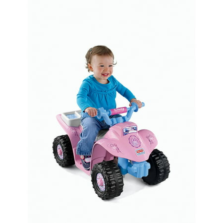 92354abbc8e98 Power Wheels Disney Princess Lil  Quad 6-Volt Battery-Powered Ride-On