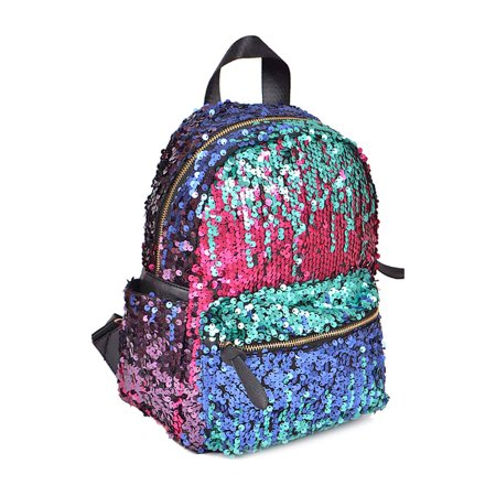 Women Fashion Colored Sequins Multipurpose Backpacks PP6518MT for $<!---->