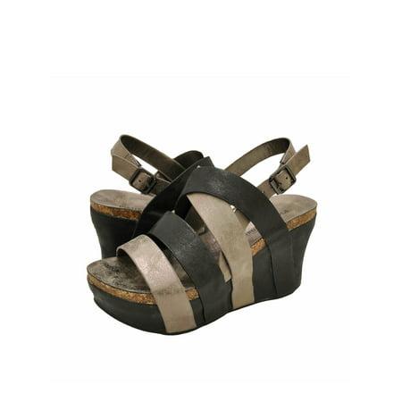 Pierre Dumas Hester-19 Women's Strappy Platform Wedge Sandals 22629
