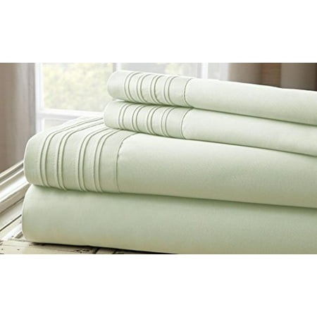 1000TC 4pc Sheet Set with Hem ()