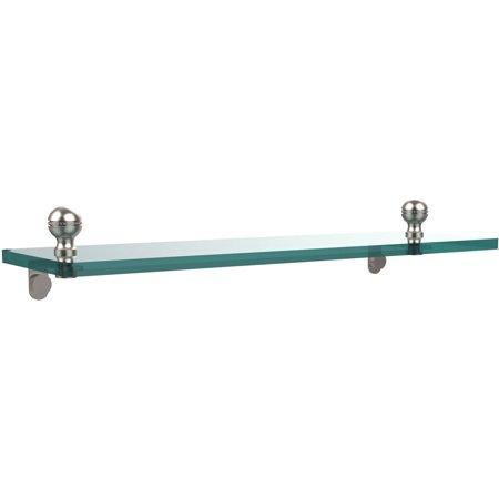"Mambo 16"" Glass Vanity Shelf with Beveled Edges (Build to Order)"
