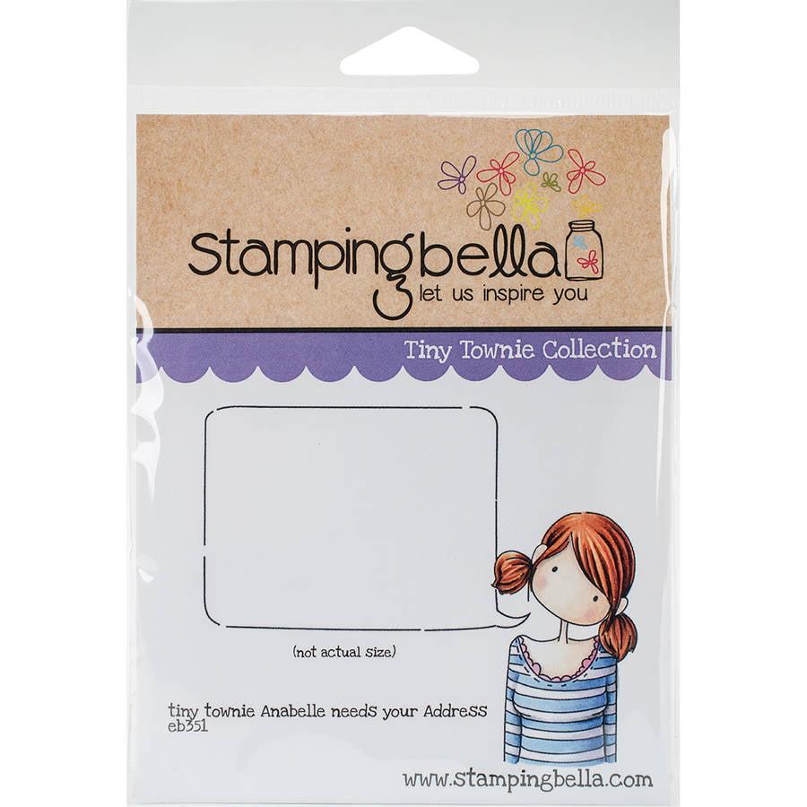 """Stamping Bella Cling Stamp, 6.5"""" x 4.5"""""""