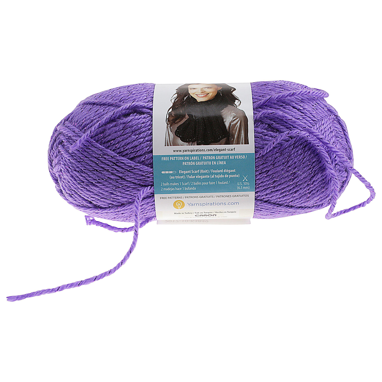 Caron Simply Soft Party Yarn, Grape - Walmart.com