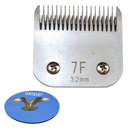 Spaniels Cats (HQRP Animal Clipper Blade Size 7F (Finish) for Pet Grooming - Body work on Sporting Breeds, Terriers, Pet Poodles, Cocker Spaniels, Unmatted Cats + HQRP Coaster)