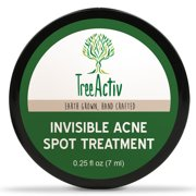 Best Cystic Acne Treatments - TreeActiv Invisible Acne Spot Treatment | All Natural Review