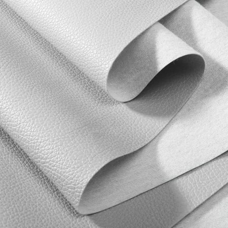 Mrosaa PU Faux Leather Fabric Car Interior Upholstery, Fabric By the Yard