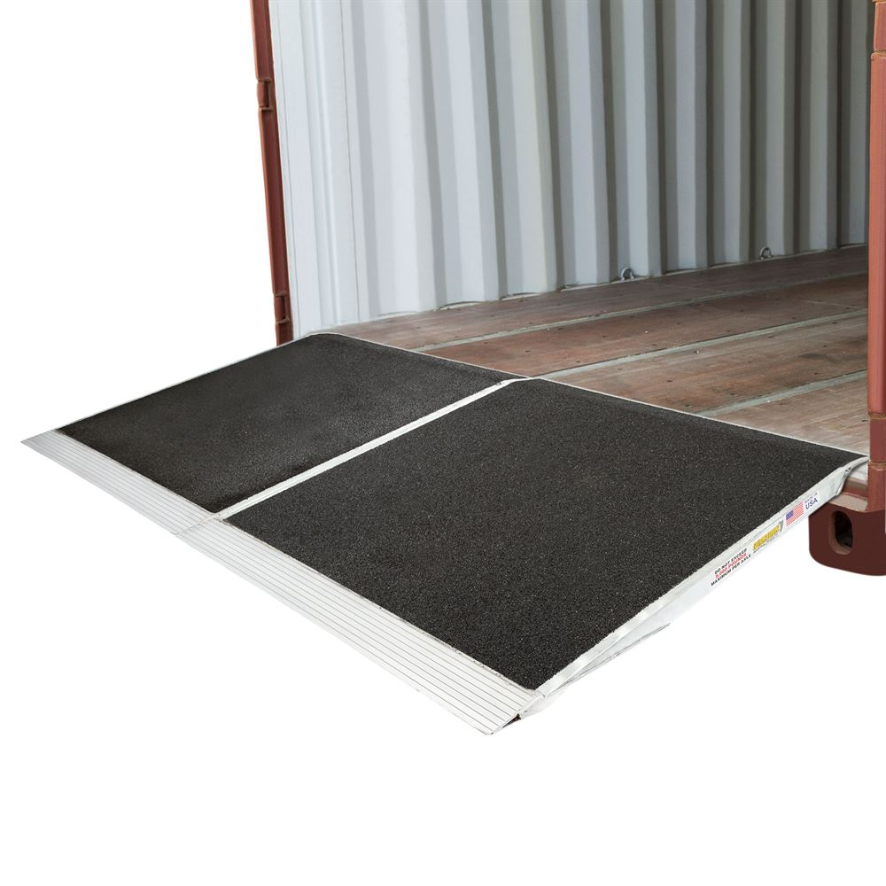 "Loading Dock Forklift Container Ramp 48"" x 90"""