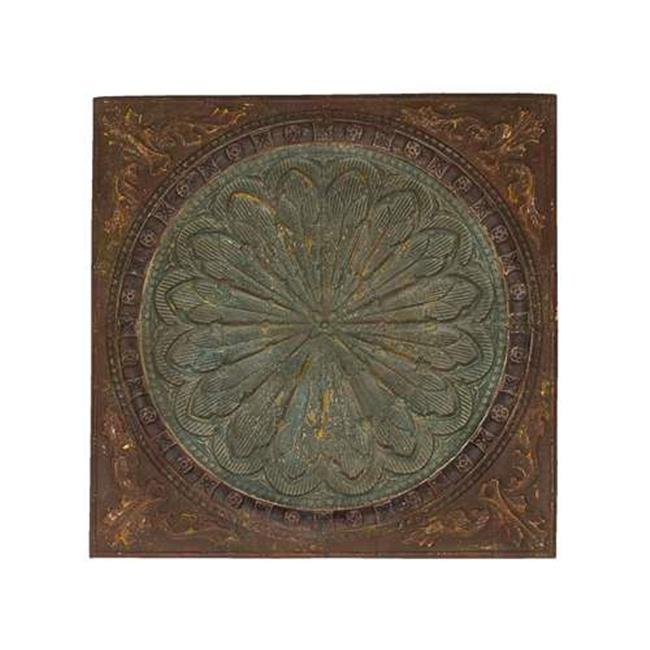 A nation  69246 Artist Wall decor With Byzantine Floral Design