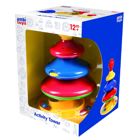 Ambi Toys - 31136 | 4-Tier Stacking Activity Tower - image 1 of 1