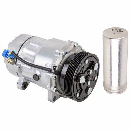 AC Compressor w/ A/C Drier For Volkswagen Golf & Audi TT 1998-2006 Audi 90 A/c Compressor