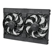 SPAL Dual 12 in 2720 CFM High Performance Electric Cooling Fan P/N 33600