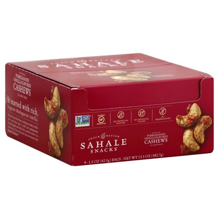 Sahale Snacks Cashews Glazed Nuts Mix Pomegranate & Vanilla 1.5 oz