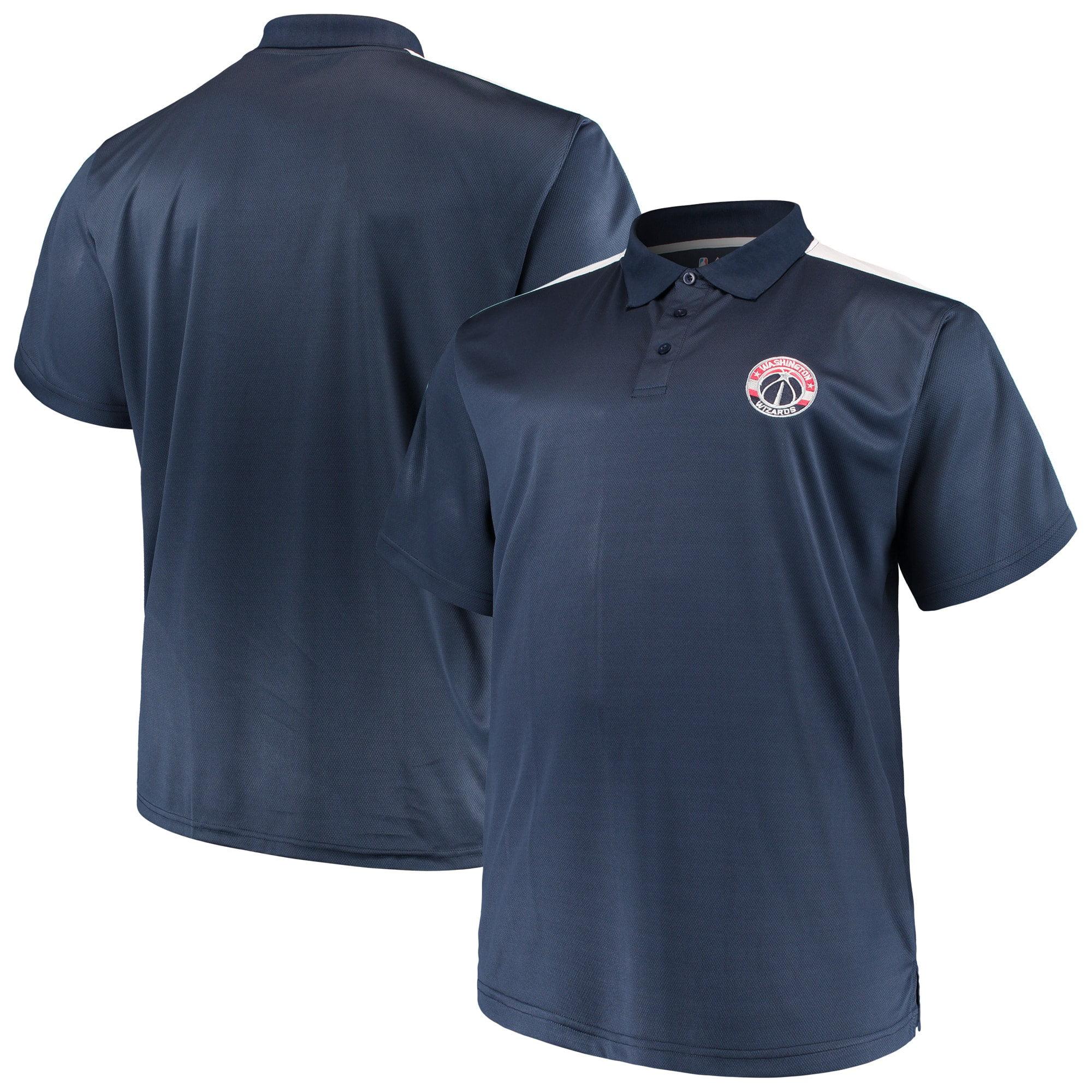 Philadelphia 76ers Moist Management Birdseye Mens Polo Shirt Big /& Tall Sizes