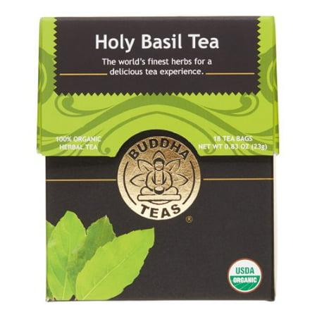 Buddha Teas Holy Basil Tea, 18 Ct