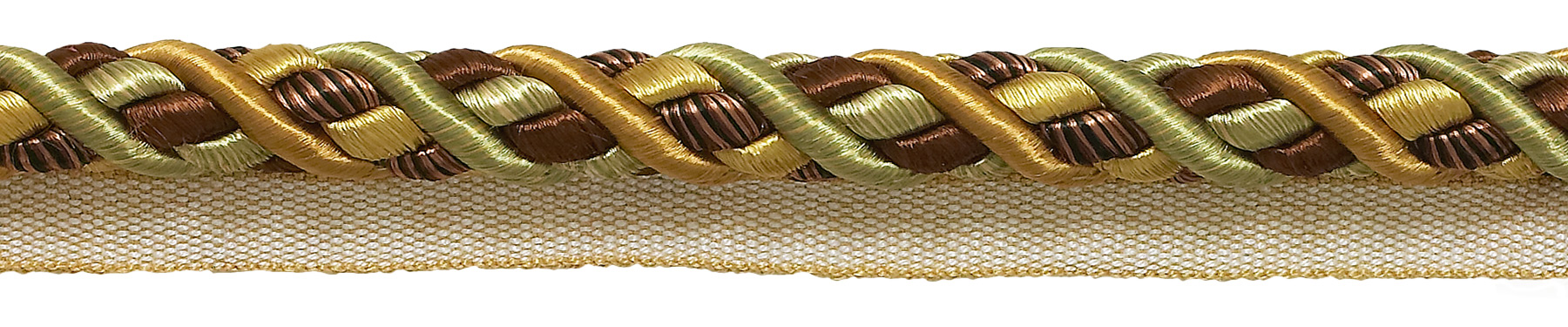 Navy Taupe 5817 36 Ft // 11M 12 Yard Value Pack of Small Navy Blue Taupe Baroque Collection 3//16 inch Decorative Cord Without Lip Style# 316BNLPK Color