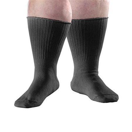silverts 191300203 extra wide diabetic swollen feet stretch & edema socks, large - (Extra Extra Wide Shoes For Swollen Feet)