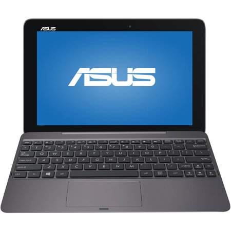 "ASUS Transformer Book T100HA-C4-GR with WiFi 10.1"" Touchscreen Tablet PC Featuring Windows 10 Operating System, Tin Grey"