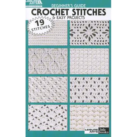 Beginner's Guide Crochet Stitches & Easy Projects (Easy Halloween Project)