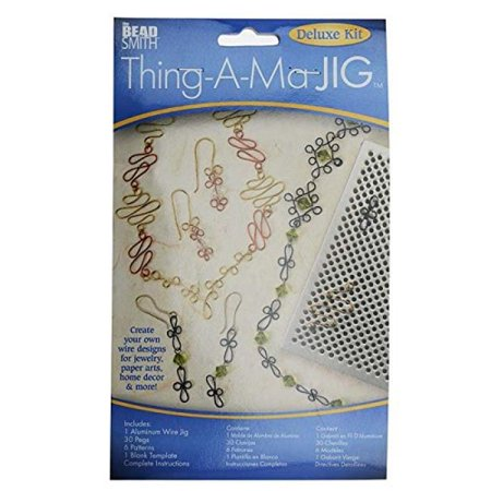 Thing-A-Ma JIG XTL-6066 Deluxe Metal Jewelry Wire Wrap Tool (Wire Jig)