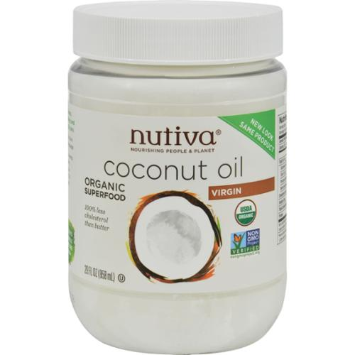 Nutiva Virgin Coconut Oil Organic - 29 oz - Case of 6