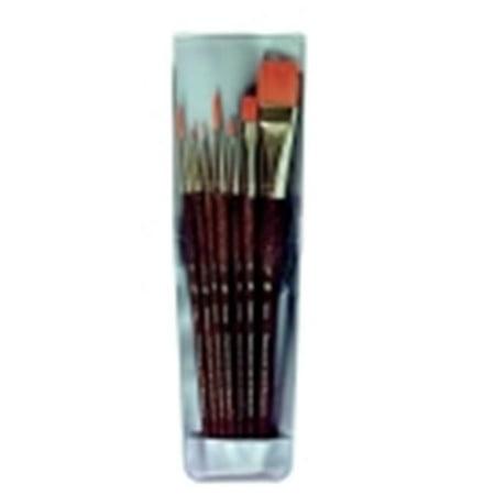 - Princeton Economy Assorted Trim Paint Brush Set, Set - 7