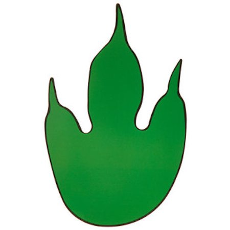 Dinosaur Feet Cut-Outs Party Supplies Special Events 12 Count (Dinosaur Cut Out)