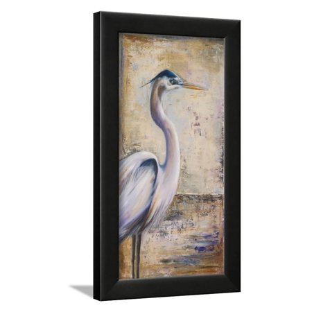 Blue Heron I Framed Print Wall Art By Patricia
