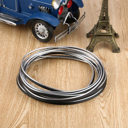 5M Durable Waterproof Flexible Universal Car Interior Edge Interval Decorative Strip Moulding Decorative Line Doors Trim