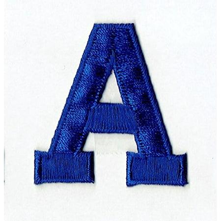 Alphabet Letter - A - Color Royal Blue - 2